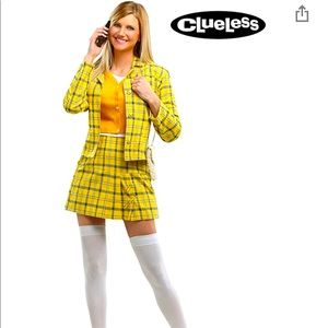 Plus Size 90's Cher Halloween Costume